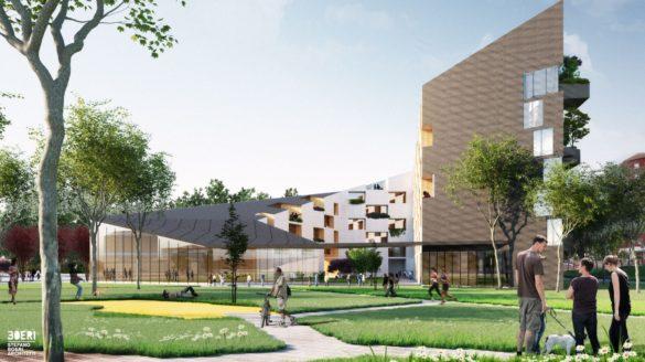 Corte Verde: il nuovo quartiere green di Stefano Boeri architetti a Milano