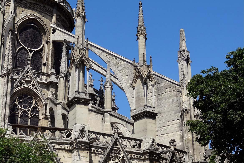 Arco In Muratura Calcolo.L Arco Rampante Della Cattedrale Di Notre Dame Segno