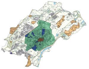 Estratto cartografia - Comune Di Settimo torinese