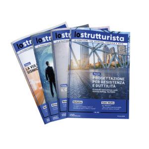 """Rivista """"Lo Strutturista"""" (abbonamento annuale cartaceo)"""