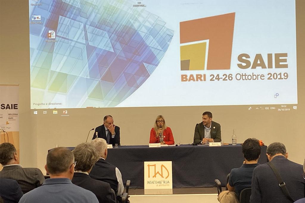 presentazione rivista Lo Strutturista SAIE Bari 2019