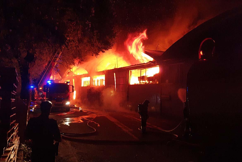 resistenza strutturale al fuoco dei capannoni industriali