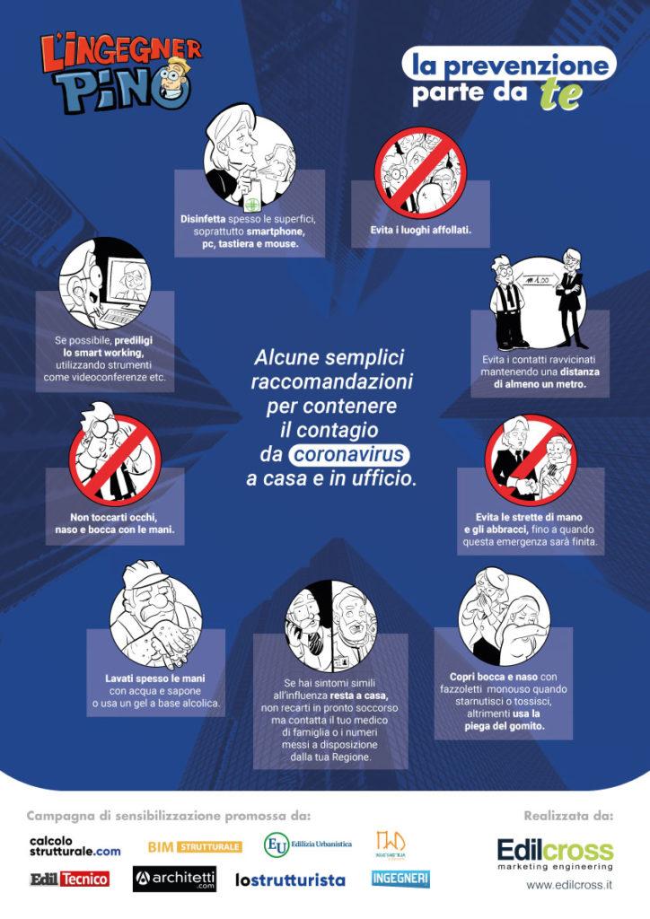 L'ingegner Pino - Campagna di prevenzione da Coronavirus