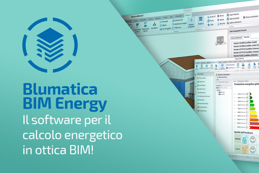 Blumatica BIM Energy: software per il calcolo energetico BIM