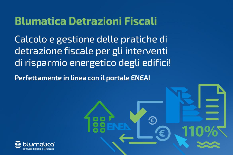 detrazione fiscale Blumatica
