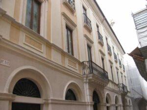 Palazzo Mannetti: sistema di monitoraggio misto