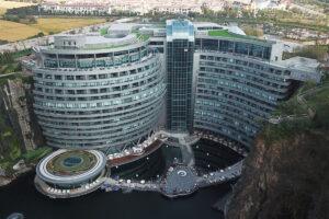 shimao wonderland hotel panoramica