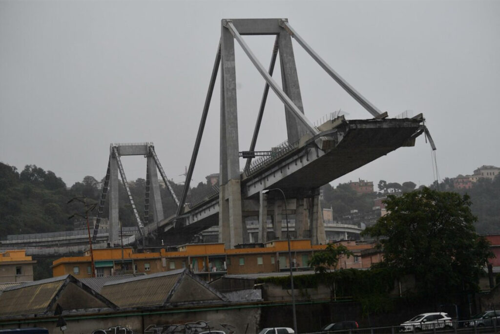 ponte morandi perizia
